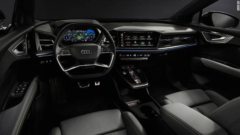 Intérieur Audi Q4 Etron Electric